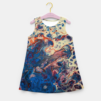 Thumbnail image of New Painting Who Dis Girl's summer dress, Live Heroes