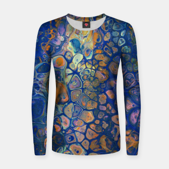Thumbnail image of Octopus Abstraction Women sweater, Live Heroes