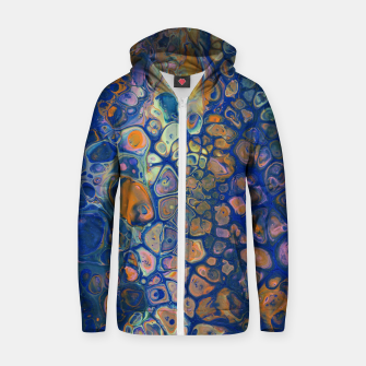 Thumbnail image of Octopus Abstraction Zip up hoodie, Live Heroes