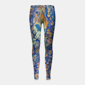 Thumbnail image of Octopus Abstraction Girl's leggings, Live Heroes