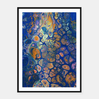 Thumbnail image of Octopus Abstraction Framed poster, Live Heroes