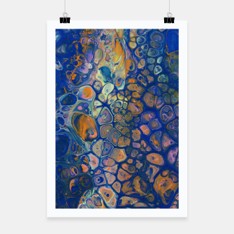 Thumbnail image of Octopus Abstraction Poster, Live Heroes