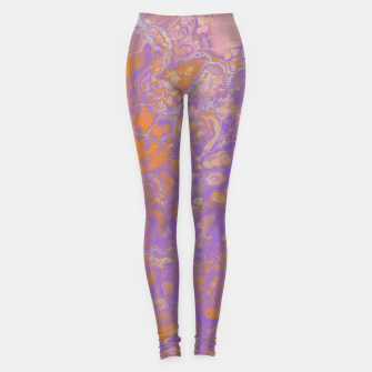 Thumbnail image of Orange Creamsicle Leggings, Live Heroes