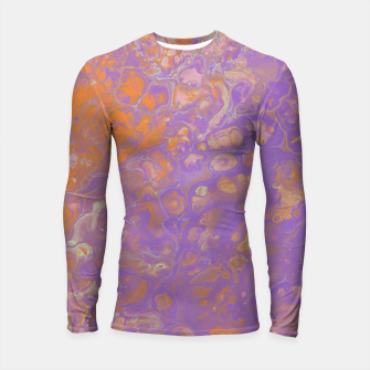 Thumbnail image of Orange Creamsicle Longsleeve rashguard , Live Heroes