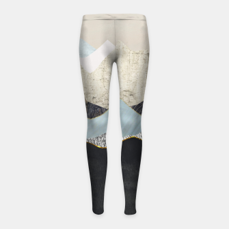 Thumbnail image of Silent Dusk Girl's leggings, Live Heroes