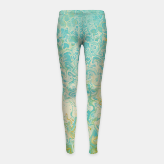 Thumbnail image of Pastel Mermaid Girl's leggings, Live Heroes