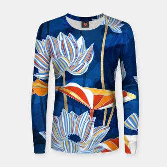 Thumbnail image of Bold Botanical Women sweater, Live Heroes