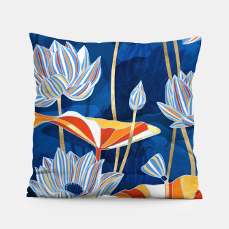 Thumbnail image of Bold Botanical Pillow, Live Heroes