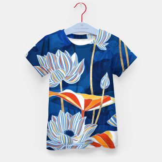 Thumbnail image of Bold Botanical Kid's t-shirt, Live Heroes
