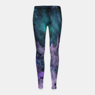 Thumbnail image of Pensieve Girl's leggings, Live Heroes