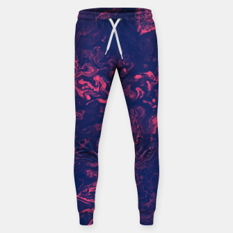 Miniatur Pink and Purple Tendrils Sweatpants, Live Heroes