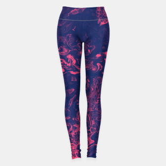 Thumbnail image of Pink and Purple Tendrils Leggings, Live Heroes