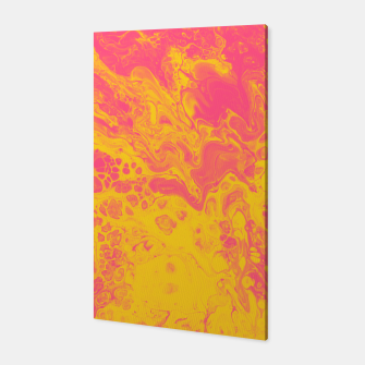 Miniatur Pink and Yellow Marble Canvas, Live Heroes