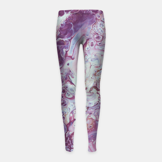 Thumbnail image of Plum Life Girl's leggings, Live Heroes