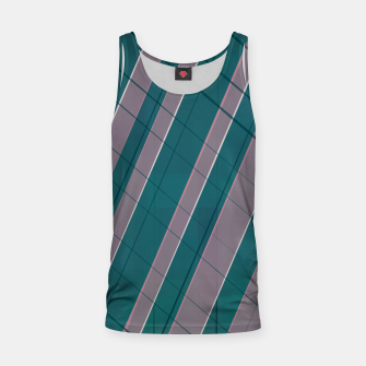 Thumbnail image of Graphic stripes in rose lilac teal  Tank Top, Live Heroes