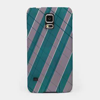 Thumbnail image of Graphic stripes in rose lilac teal  Samsung Case, Live Heroes