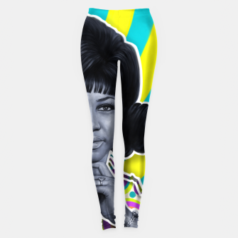 Thumbnail image of Aretha - Queen of Soul Leggings, Live Heroes