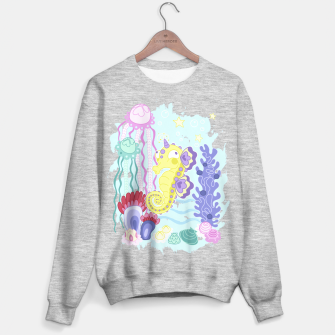 Thumbnail image of The Majestic Magical Seahorse Unicorn Sweater regular, Live Heroes