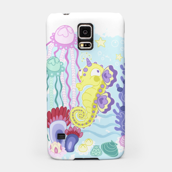 Thumbnail image of The Majestic Magical Seahorse Unicorn Samsung Case, Live Heroes