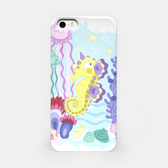 Thumbnail image of The Majestic Magical Seahorse Unicorn iPhone Case, Live Heroes