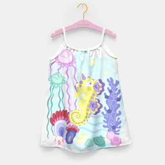 Thumbnail image of The Majestic Magical Seahorse Unicorn Girl's dress, Live Heroes