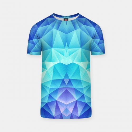 345dafab T-shirt. Filters. Sort by: Latest, Most liked, Most viewed. Search.  Thumbnail image of Ice Blue / Abstract Polygon Crystal Cubism Low Poly  Triangle Design ...