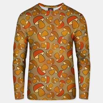 Thumbnail image of Porcinis Autumn Pattern Unisex sweater, Live Heroes
