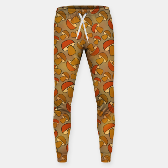 Thumbnail image of Porcinis Autumn Pattern Sweatpants, Live Heroes