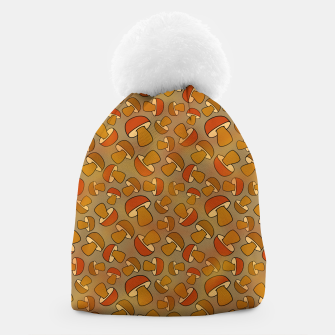 Thumbnail image of Porcinis Autumn Pattern Beanie, Live Heroes
