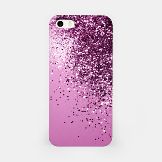 Thumbnail image of Sparkling Pink Lady Glitter #1 #shiny #decor #art  iPhone-Hülle, Live Heroes