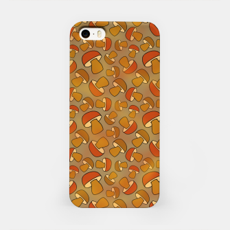Thumbnail image of Porcinis Autumn Pattern iPhone Case, Live Heroes