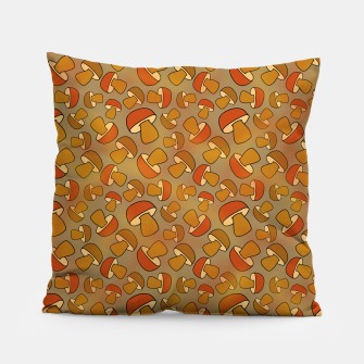 Thumbnail image of Porcinis Autumn Pattern Pillow, Live Heroes