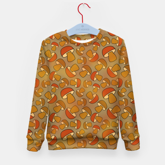 Thumbnail image of Porcinis Autumn Pattern Kid's sweater, Live Heroes