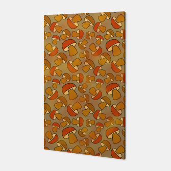 Thumbnail image of Porcinis Autumn Pattern Canvas, Live Heroes