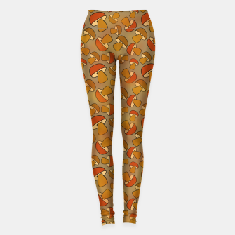 Thumbnail image of Porcinis Autumn Pattern Leggings, Live Heroes