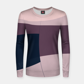 Thumbnail image of Blush Purple and Blue II Women sweater, Live Heroes