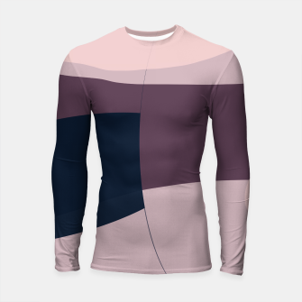 Thumbnail image of Blush Purple and Blue II Longsleeve rashguard , Live Heroes