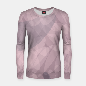 Thumbnail image of Blush Purple and Blue III Women sweater, Live Heroes
