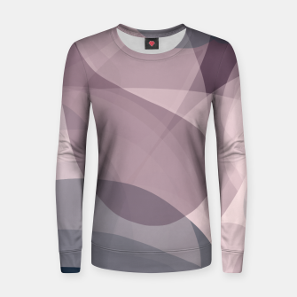 Thumbnail image of Blush Purple and Blue IV Women sweater, Live Heroes