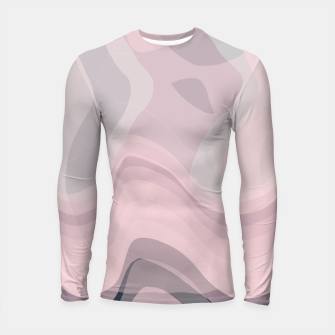 Thumbnail image of Blush Purple and Blue V Longsleeve rashguard , Live Heroes