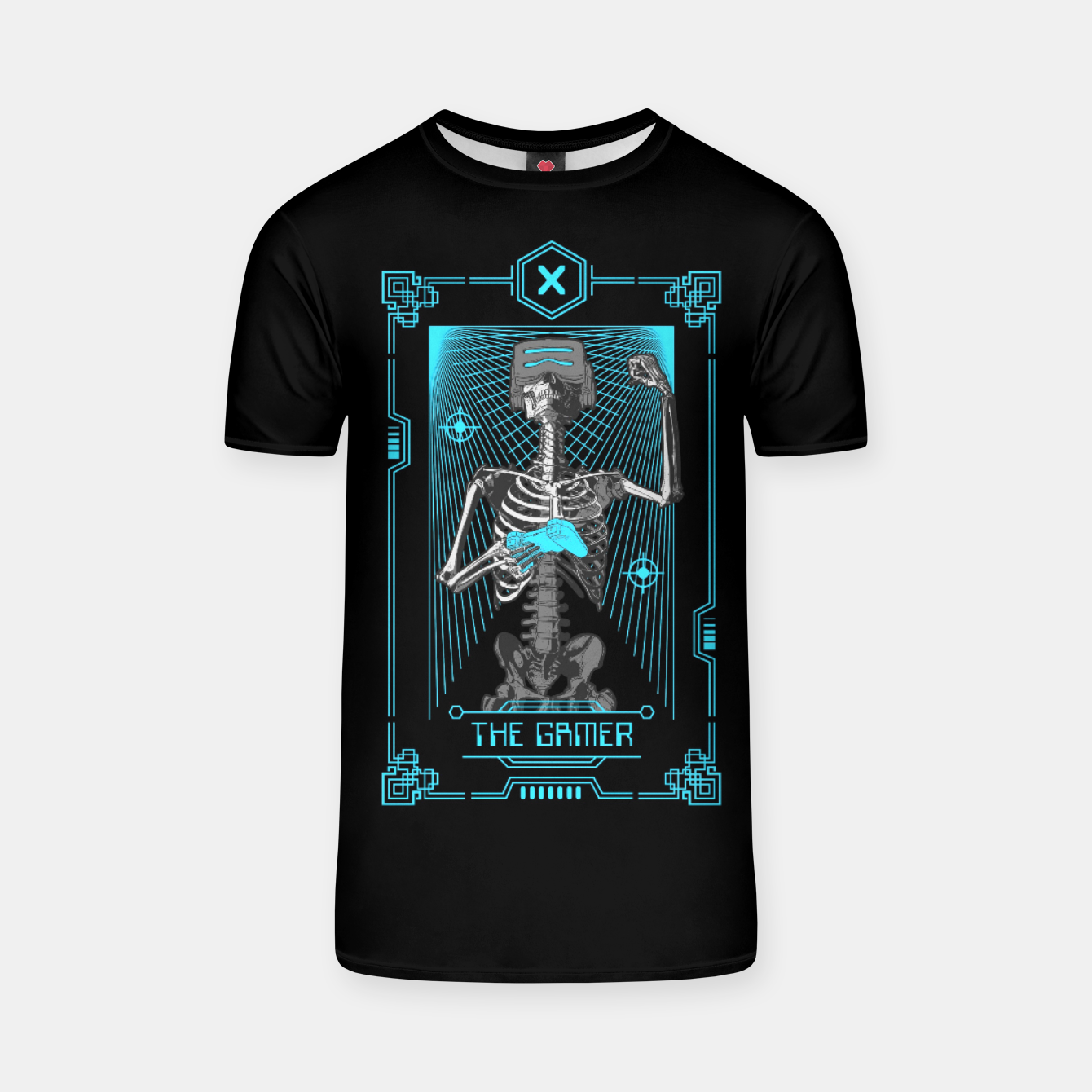 Image of The Gamer X Tarot Card T-shirt - Live Heroes