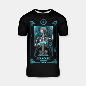 Thumbnail image of The Gamer X Tarot Card T-shirt, Live Heroes