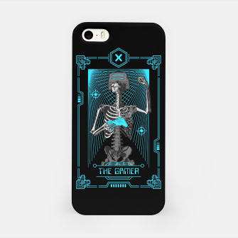The Gamer X Tarot Card iPhone Case thumbnail image