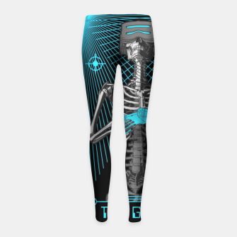 The Gamer X Tarot Card Girl's leggings thumbnail image