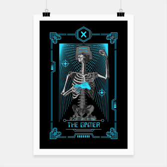 Thumbnail image of The Gamer X Tarot Card Poster, Live Heroes