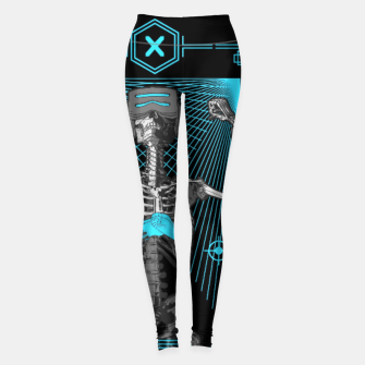 Thumbnail image of The Gamer X Tarot Card Leggings, Live Heroes