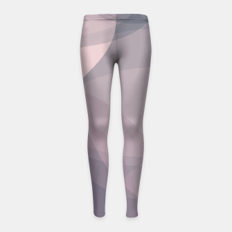 Thumbnail image of Blush Purple and Blue VII Girl's leggings, Live Heroes