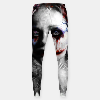 Thumbnail image of harley quinn Sweatpants, Live Heroes