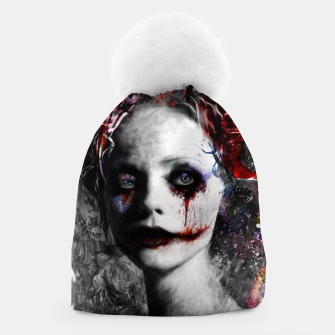 Thumbnail image of harley quinn Beanie, Live Heroes