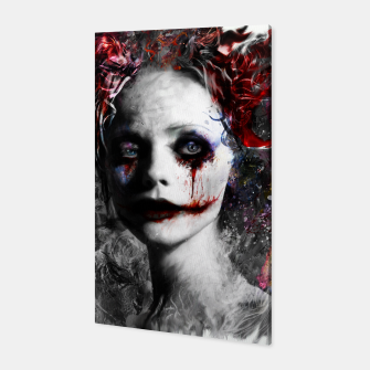 Thumbnail image of harley quinn Canvas, Live Heroes